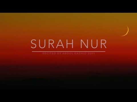 Surah Nur | Abdul Rashid Sufi | English Translation