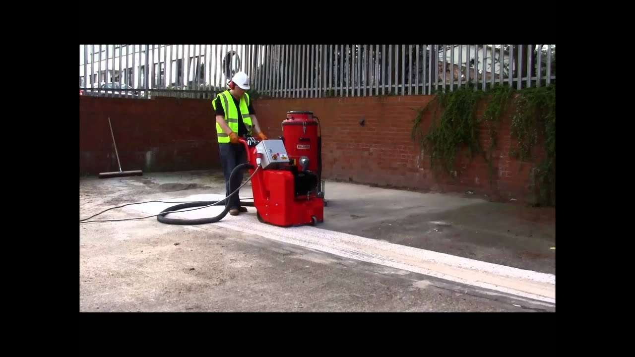 Floor Scarifier Tfp320 Youtube