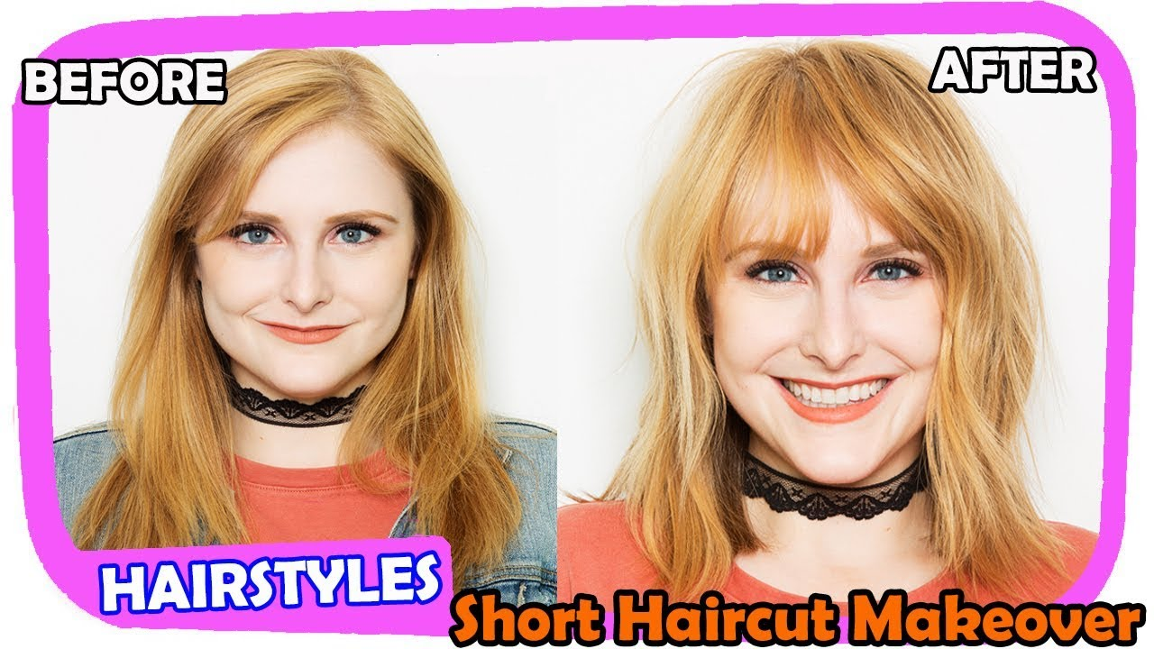 Long To Short Haircut Makeovers The Best Haircut Of 2018