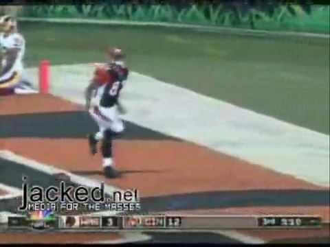 Funny Touchdown Celebration With Kelly Washington