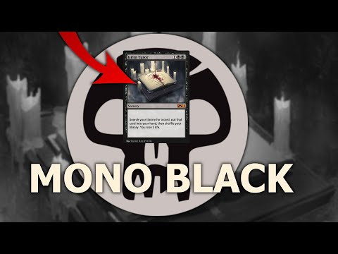 THIS IS HOW TO MAKE IT WORK! Mono Black Standard MTG Arena