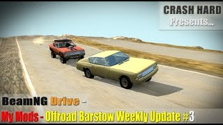 BeamNG Drive - My Mods - Offroad Barstow Weekly Update #3