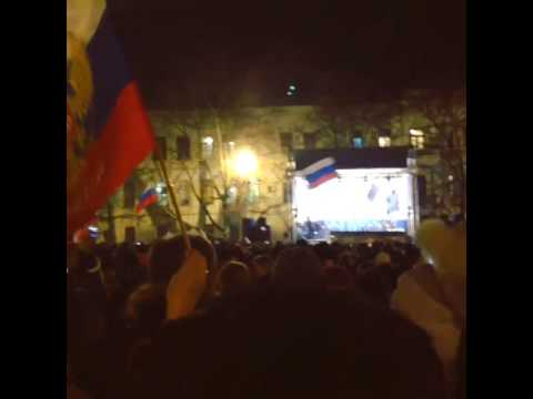 Sevastopol nakhimova square Ukraine Protests #crimea