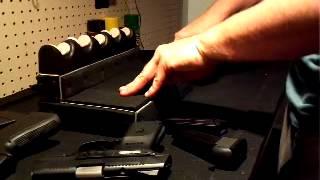 Homemade Pistol Rack.