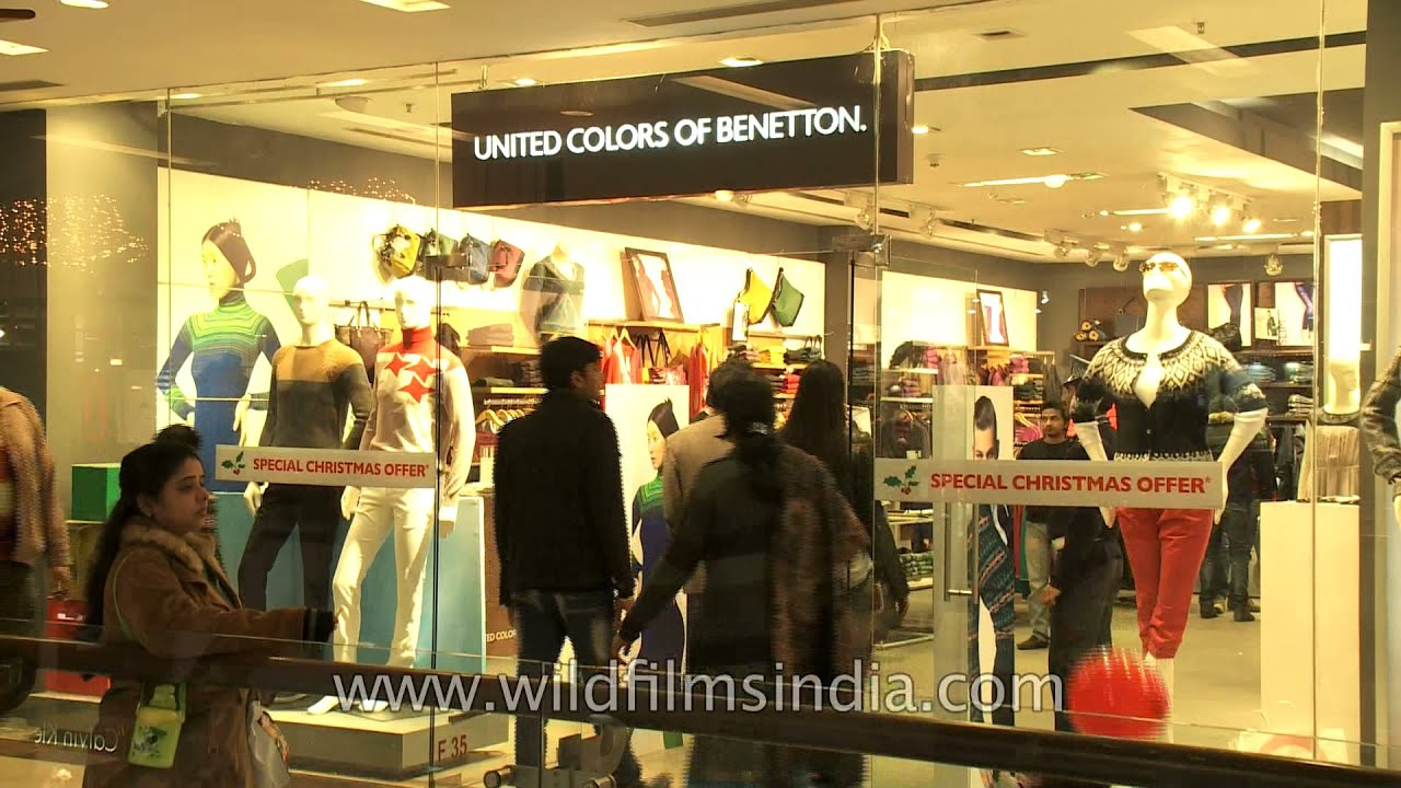 United C Colors Of Benetton At Select Citywalk New Delhi Youtube