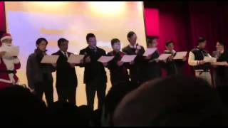 [德信中學一年一度聖誕聯歡會特輯]老師們齊唱聖詩Joy To