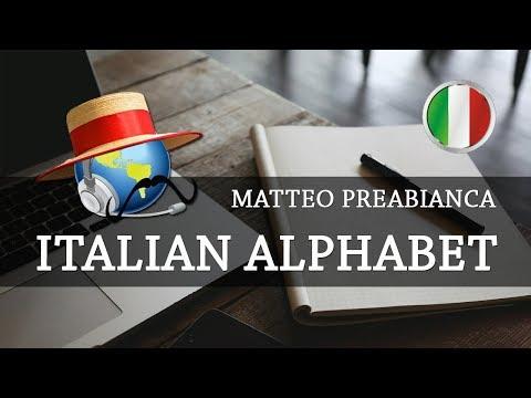 Learn Italian - Italian Alphabet