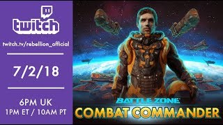 Battlezone: Combat Commander - Strategy Gameplay!