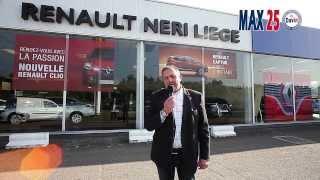Essai de la nouvelle Renault ZOE 100% électrique du groupe Neri par Max 25.