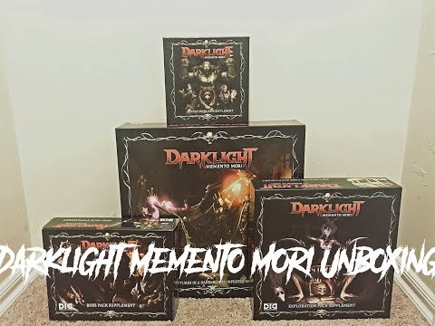 Darklight Memento Mori Unboxing