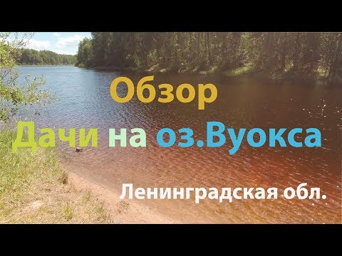 Обзор Дачи на озере Вуокса / Приозерский район
