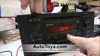 How to Unlock Audi Radio Code , READ SAFE MODE by AutoToys.com (blitzsafe vw / audi converter plug)