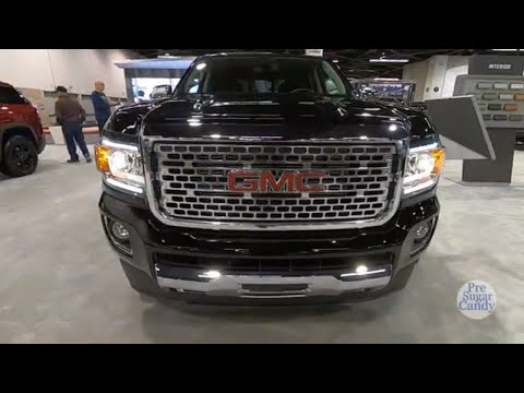 2020 GMC Canyon Denali - Exterior And Interior Walkaround - 2019 Auto Show