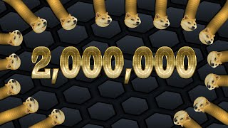 Slither.io PLUS | 2,000,000 MILLION *Score* | Thanks for 1K subscribers!