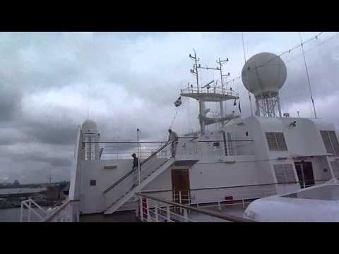 MARNIK ROMMELAERE AND MARC WEBER TOBIAS ON ms ROTTERDAM.wmv