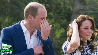 Prince William Breaks Down in Tears At Taj Mahal Retracing His Mother