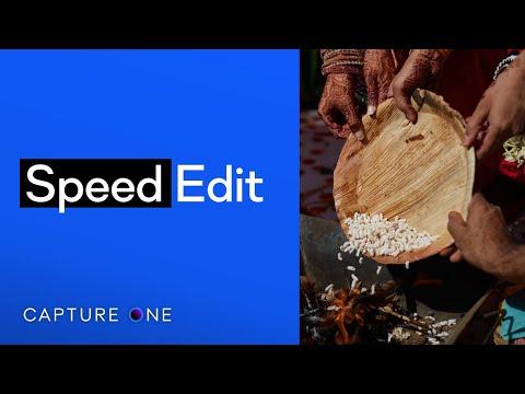 Capture One 21 Tutorials   Speed Edit