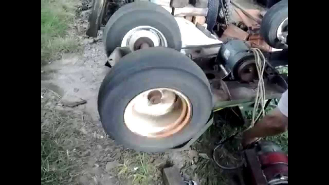 Diy Petrol Electric Garden Tractor Project Part 2 Youtube
