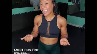 FLOW & VIBES | ABS FLOOR WORKOUT | Sereco Campbell - Ambitious One Fitness