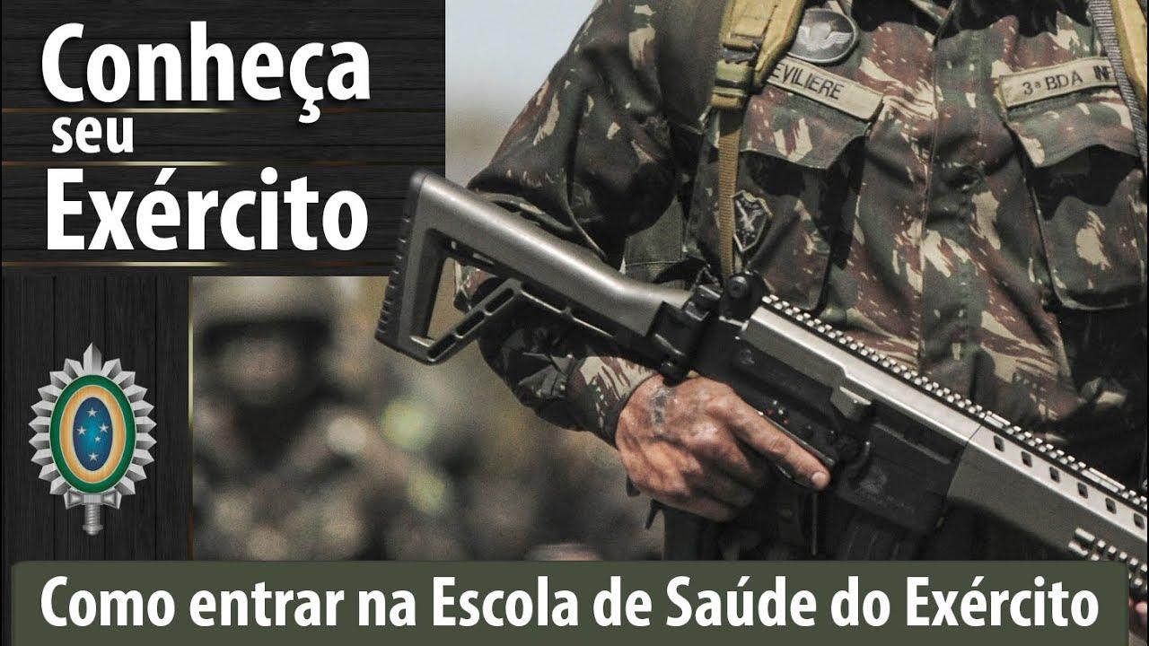 58e732356f Como ingressar na Escola de Saúde do Exército - #ConheçaSeuExército ...