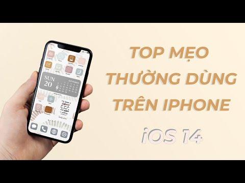 Những mẹo thường dùng trên iPhone nhất định bạn phải biết I iOS 14