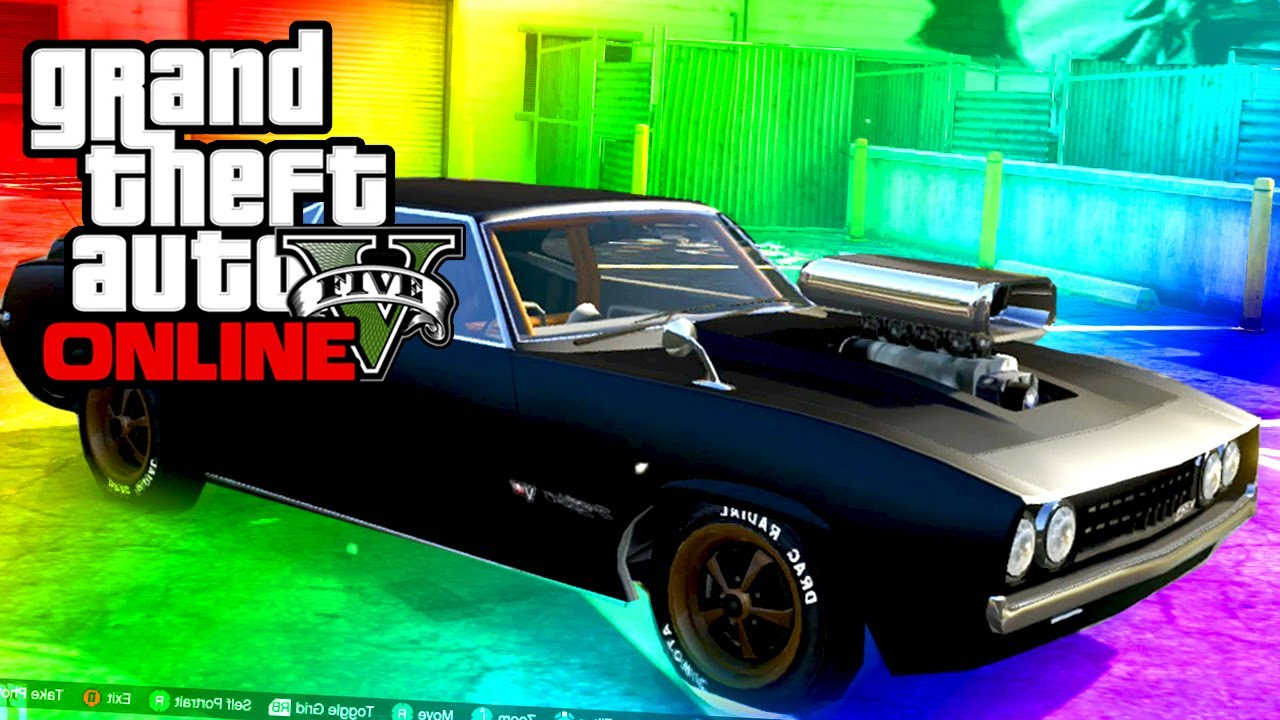 Declasse Vigero Muscle Car Spawn Location Gta Online Youtube