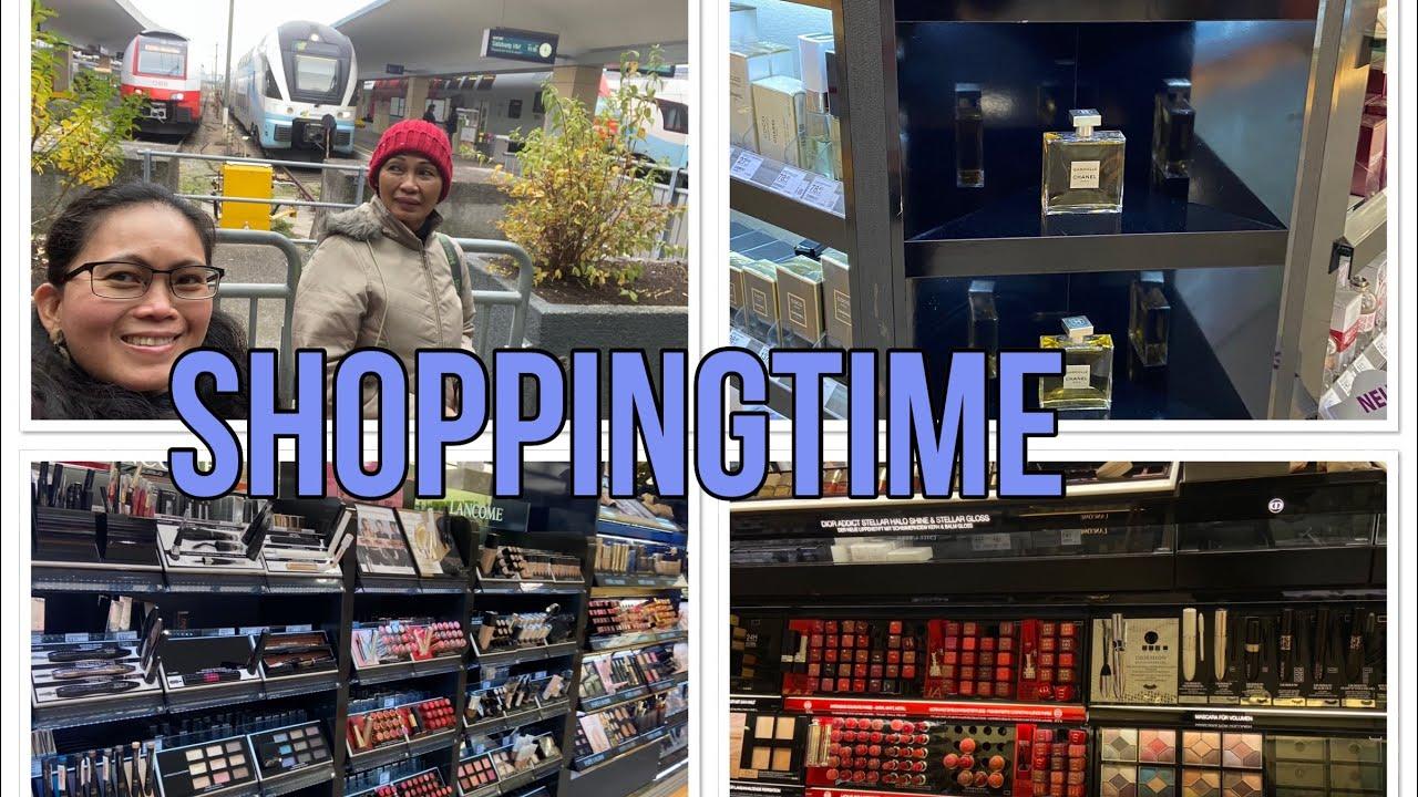 Shoppingtime around westbahnhof with friend Myrna