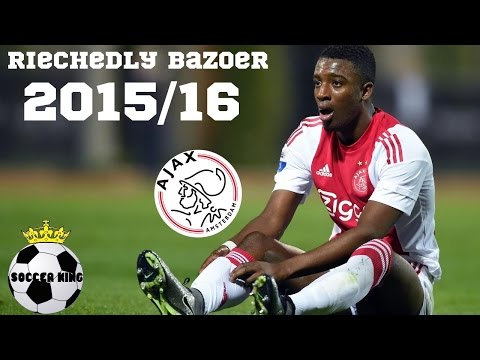 Riechedly Bazoer- Best Goals/Skills/Assists 2015/16 HD