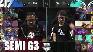 CLG vs Flash Wolves   Game 3 Semi Finals LoL MSI 2016   CLG vs FW G3 MSI 1080p