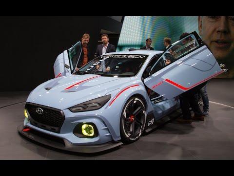 Hyundai RN30 Concept First Look 2016 Paris Motor Show