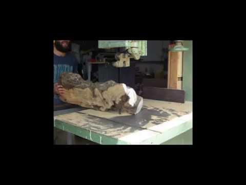 Processing Israeli Olive Wood- Wood Work Master Series