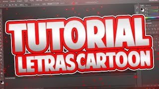 👍Como Hacer LETRAS CARTOON En Photoshop - Tutorial - El Peck