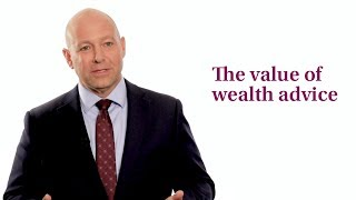 The value of wealth advice