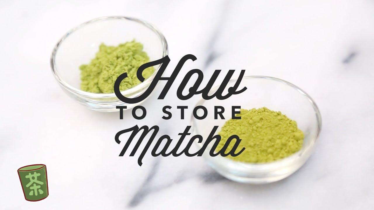 how to make matcha powder