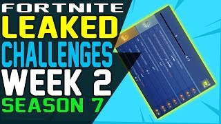 Fortnite CHALLENGES WEEK 2 SEASON 7 LEAKED, Play the Sheet Music on the Pianos