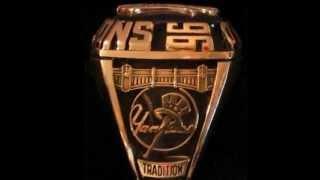 New York Yankee Rings 1996-2009