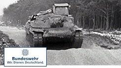 """Classix: """"Kampfpanzer 70"""" in Erprobung (1969) - Bundeswehr"""