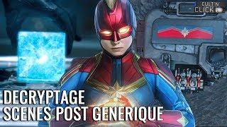 Captain Marvel : Les scènes post-générique décryptées