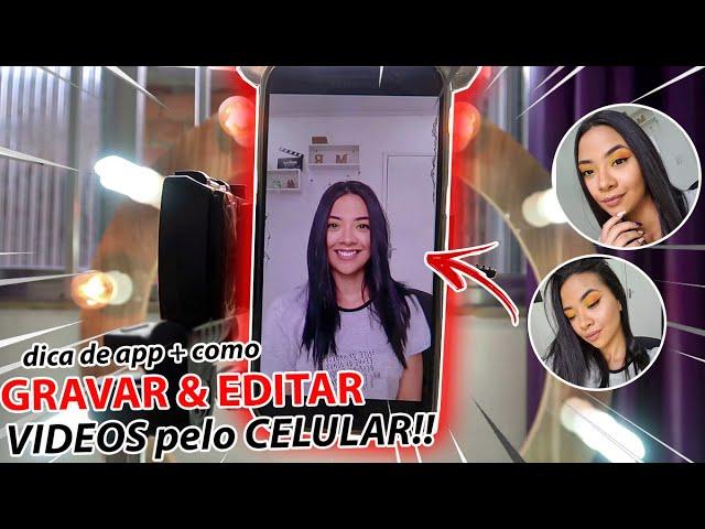 Como GRAVAR e EDITAR VIDEOS no CELULAR!! *mini videos pro instagram*