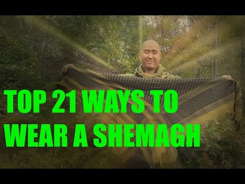 TOP 21 WAYS TO WEAR A SHEMAGH
