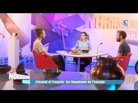 France 3 Normandie Matin 20/09/16 - Les Vagabonds de l'énergie