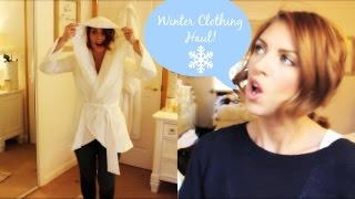 ❤ Winter Clothing Haul & TRY ON ❤