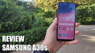 Review Samsung A30s Nuevo telefono movil android 2019