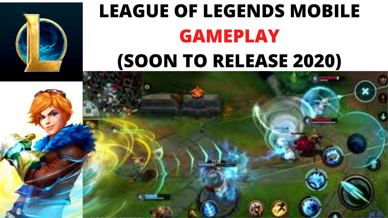 League Of Legends Mobile Youtube