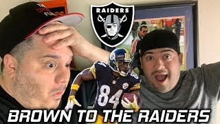 Antonio Brown traded to the Raiders