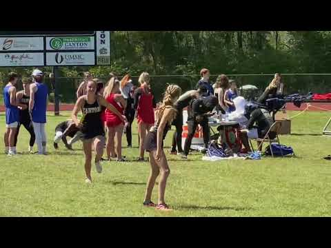 Canton Academy 6th grader - anchor s 4x 100 in JV and WINS