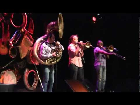 Red Baraat - Chaal Baby 4/12/12 Louisville, KY @ Bomhard Theater