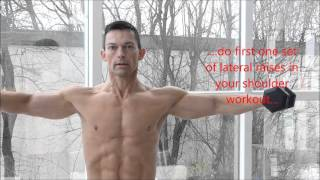 Wie man breite Schultern bekommt+++How to get big shoulders