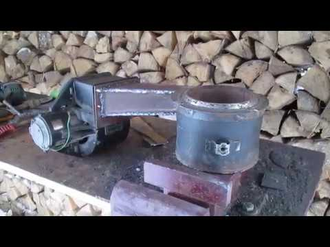 burner on waste oil part 1