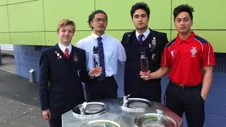 Kelston Boys High School gets new smart water meter